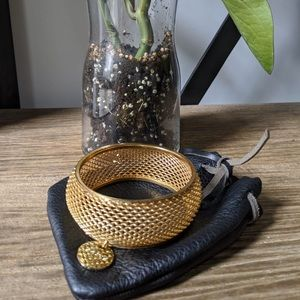 2 for $30 ☀️ Brave Leather Gold Bangle